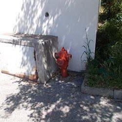 Remplacement d'un poteau incendie par une bouche incendie