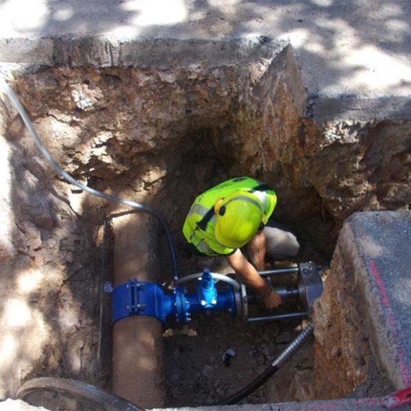 Sud hydrants perçage